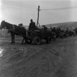 manure transportation with draught