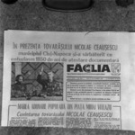 old newspapers, reproduction  Făclia