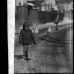 child on the street