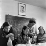 Huedin, school, workshop