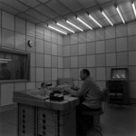 Cluj Radio Station, studio, interior