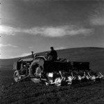 agriculture 1972, corn sowing