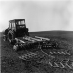 disking, corn sowing