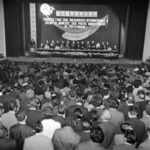 1 May meeting, Students' culture house, 9th of May