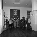 library exhibition, the political book