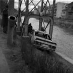 car accident at the Someş river