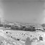 Mănăştur bridge, winter